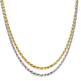 Thick Rope Chain Gold Filled Necklaces For Women