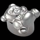 Teddy Bear with Bow-tie Urn Keepsake: Free Engraving