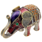 Embellished Elephant Keepsake Box