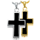 Black Inlay Cross