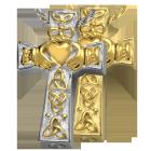 Claddagh Celtic Cross