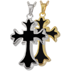 Tattoo Cross Urn Pendant