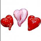 All My Love Art Glass Pendant
