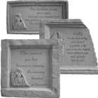 Framed Angelic Garden Memorial Stone