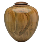 Classic Artisan Urn Ambrosia Maple with Walnut Lid