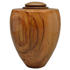 Heritage Artisan Urn Cherry with Walnut Lid
