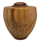 Heritage Artisan Urn Ambrosia Maple with Walnut Lid