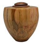 Heritage Artisan Urn Ambrosia Maple with Walnut Lid