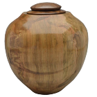 Craftsman Artisan Urn in Ambrosia Maple