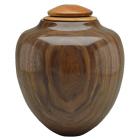 Craftsman Artisan Urn in Black Walnut