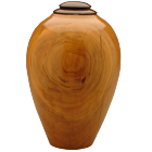 Eternal Heartwood Cherry-Ebony Wood Urn