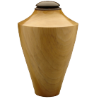 Eternal Heartwood Poplar-Ebony Wood Urn