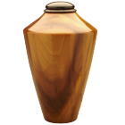 Tulip Poplar & Ebony Wood Cremation Urn