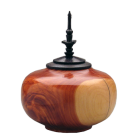 Wooden Medium Sharing Urn: Cedar