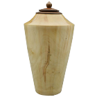 Ambrosia Maple with Walnut Lid Petite Urn