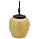 Box Elder with Ebonized Oak Finial