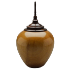American Sycamore with Walnut Finial Urn