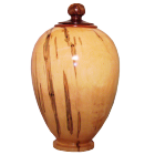 Noble Ambrosia Maple Hand-turned Wooden Urn