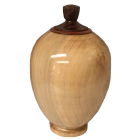 Splendid Maple Wood Finial Urn