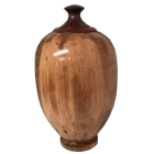 Fine Ambrosia Maple Wood Finial Urn