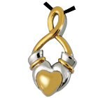 Premium Stainless Steel Claddagh Infinity