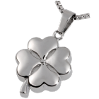 Stainless Steel Hearts of Clover