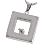Premium Stainless Steel Heart of Center