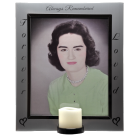 Memorial Picture Frames: Eternal Frame with Memorial Candle
