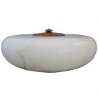 Italian Alabaster Companion Urn