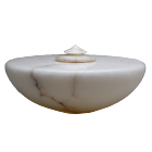 Italian Alabaster Extra Large Cremation Urn