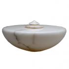 Italian Alabaster Cremation Urn