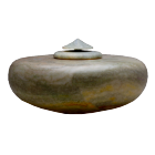 Green Alabaster Stone Cremation Urn