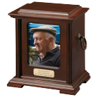 Honor Urn with Photo Window