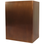 Modern Copper Art Urn
