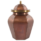 Majestic Copper Cremation Urn