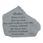 Thoughtful Family Garden Memorial Stones