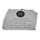 Large Personalized Garden Memorial Stone