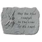 """May You Find Comfort..."" Garden Memorial Stone"