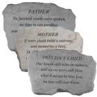 Engraved Family Memories Garden Stone