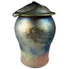 Animal Spirit Raku Cremation Urn- Oversized