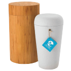 biodegradable bamboo wood scattering urn