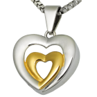 Premium Stainless Steel Married Hearts