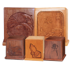 Themed Hardwood Cremation Urns