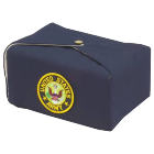 Military Embroidered Fabric Urn