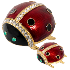 Ladybug Jewelry Keepsake Box