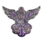Angel in Purple Keepsake Box