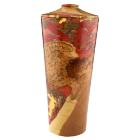 Coral Sunset II Wooden Cremation Urn Keepsake