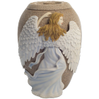 Angel's Embrace Sandstone Urn