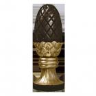 Pinecone Bronze Sculpture Urn