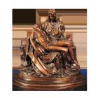 Pieta Bronze Sculpture Urn
